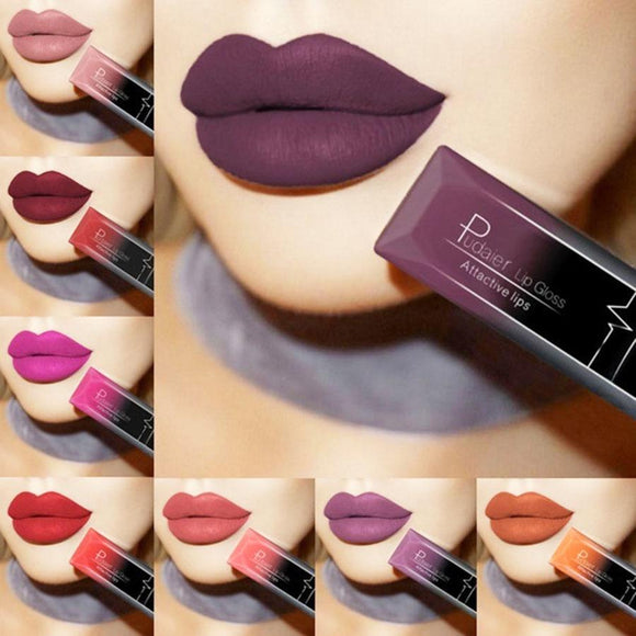 2018 Long Lasting Waterproof Lip Gloss Matte