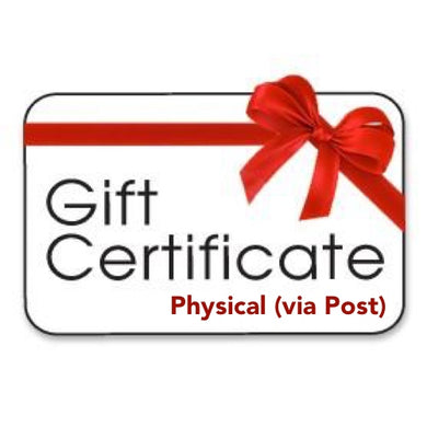 $75.00 Gift Certificate - Physical