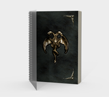 Twin Dragon Pentagram Book of Shadows Journal