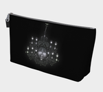 Skull Chandelier Goth Art Makeup Bag
