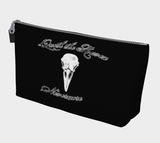 Raven Quote Gothic Art Makeup Bag