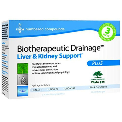 Liver & Kidney Cellular Biotherapeutic Drainage™ Kit