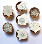 Sacred Geometry {Temporary} Tattoos *limited* - Set of 5