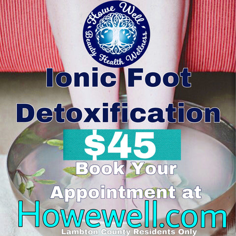 Ionic Foot Detoxification