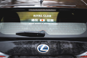 RIVAL CLUB CONQUEROR DECAL -退位・征服 デカール