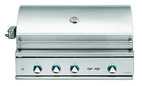 BBQ au gaz encastrable 38""