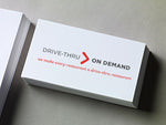 Standard Business Cards <br>500 quantity per order