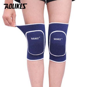AOLIKES 1 Pair Kids Adult Dancing Skating Skateboard Cycling Sponge Knee Pads Anti-crash Children Kneepads Knees Protector