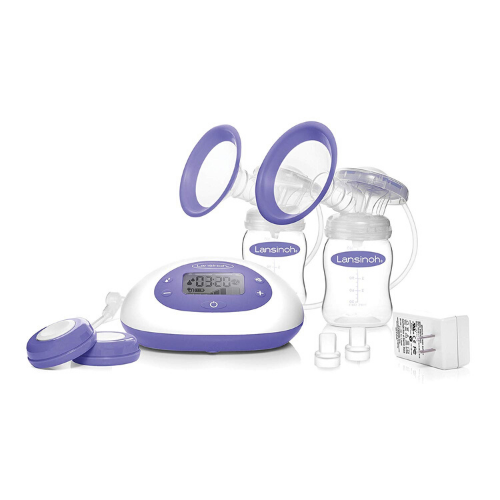 Lansinoh Signature Pro Electric Double Breast Pump 2 Phase Accessories Tote Bag
