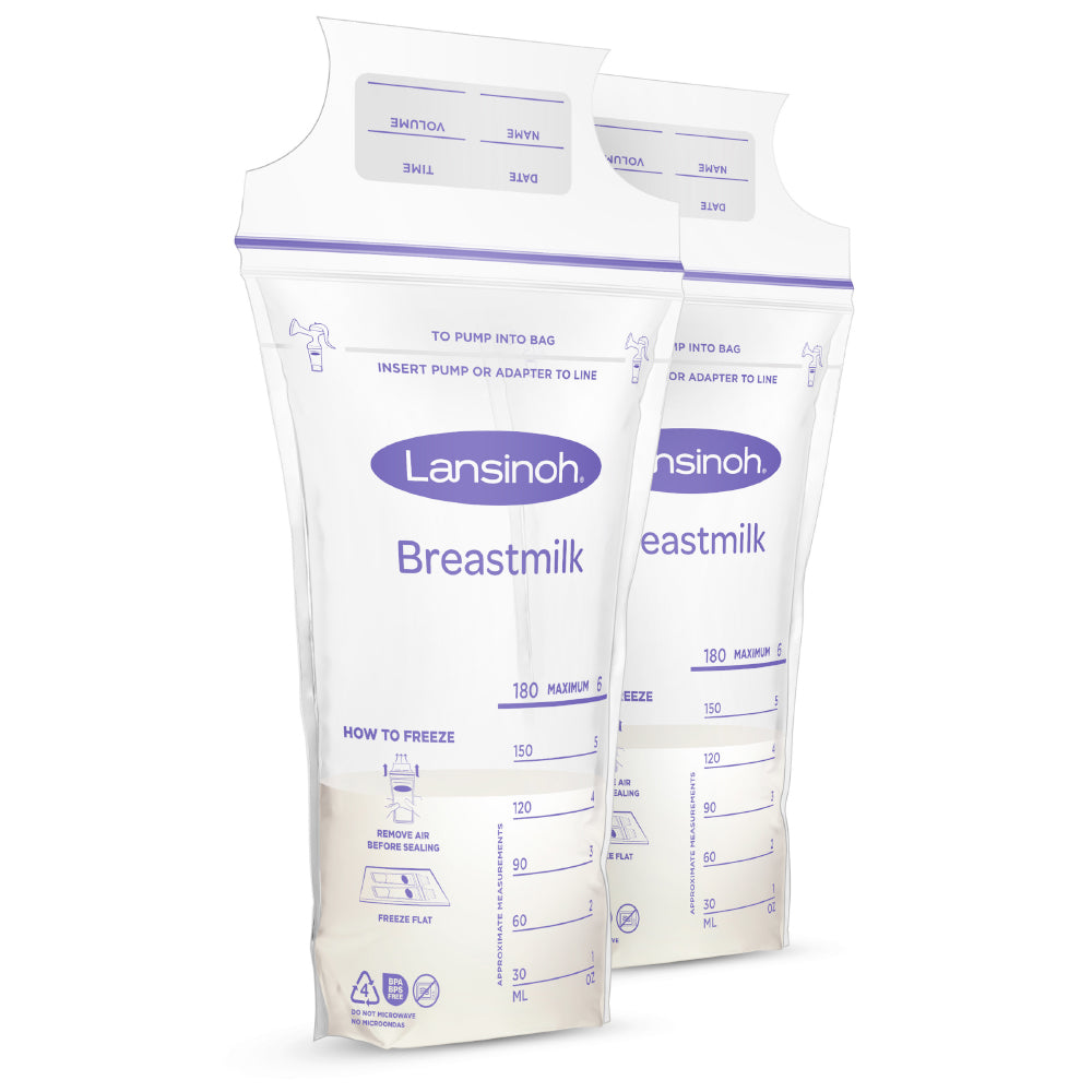 Breastmilk Storage Bags (6oz)