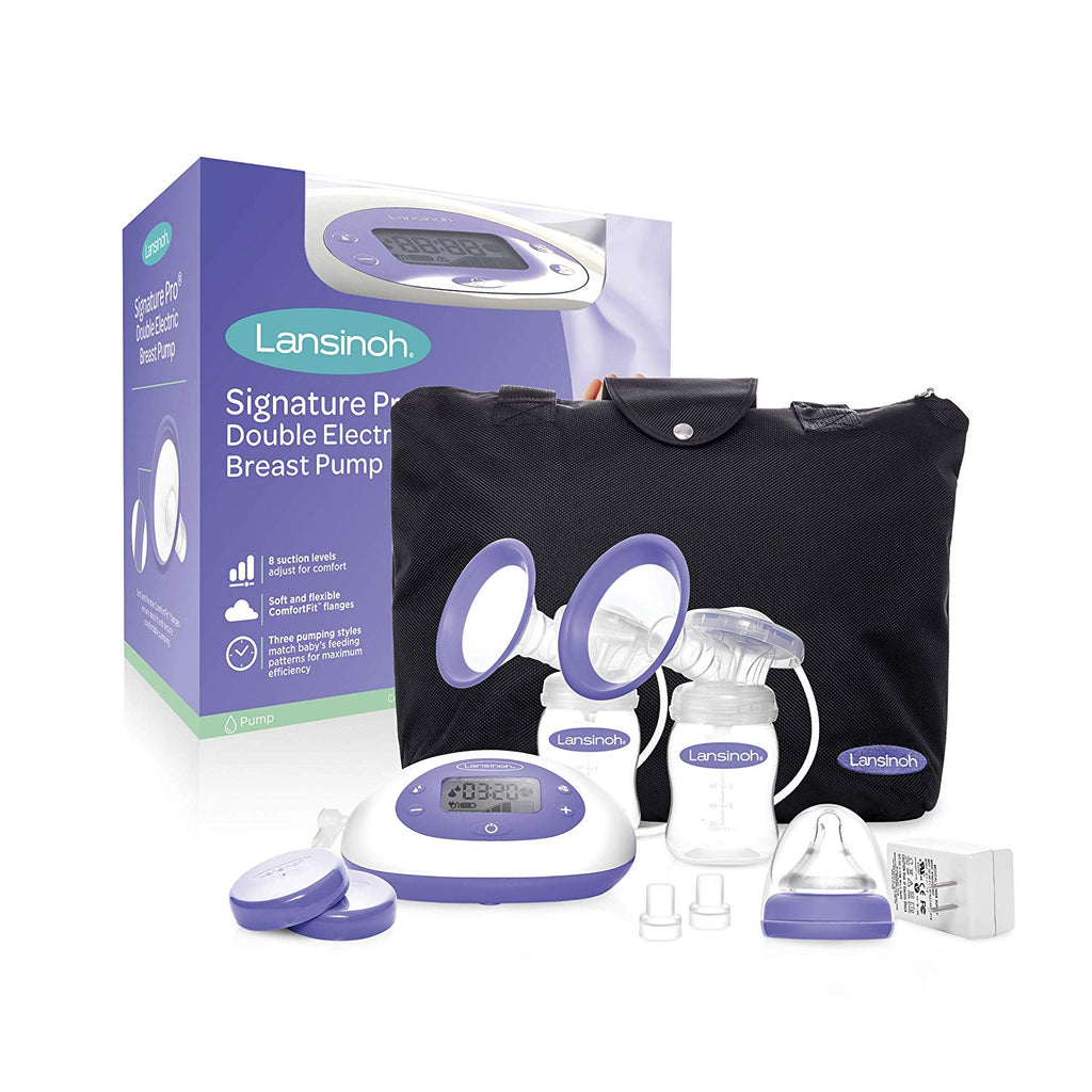 Signaturepro Double Electric Pump With Tote Bag Lansinoh