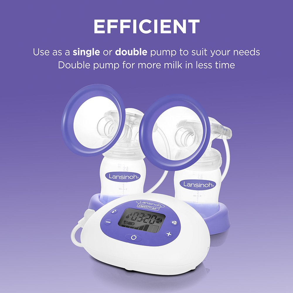 Smartpump Double Electric Breast Pump Lansinoh