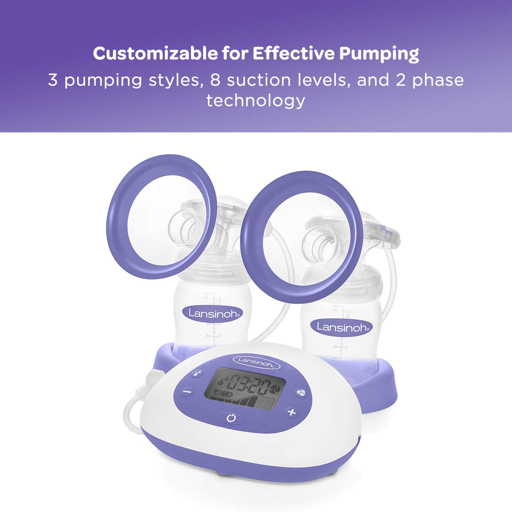Signature Pro® Double Electric Breast Pump with Tote Bag