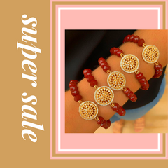 the warmer colours along with layering jewellery