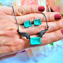Load image into Gallery viewer, BF-005 jewelry set De Lux Jewellery Aqua
