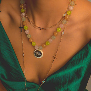 Meaningful Necklaces with Cross necklace De Lux