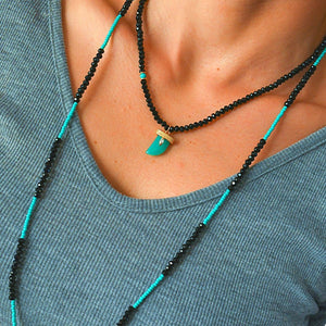 Mix and Match Two Type of Necklaces Mix De Lux
