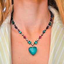 Load image into Gallery viewer, Necklaces with Full Mixing Crystal necklace De Lux