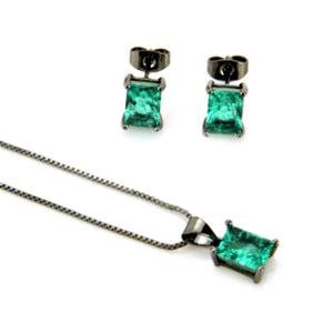 TB-002 Sale De Lux Jewellery 45cm Green