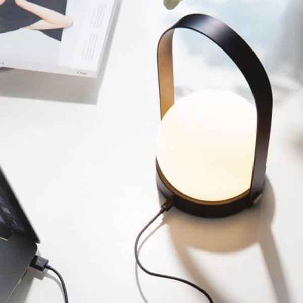 Carrie LED Lamp, Black