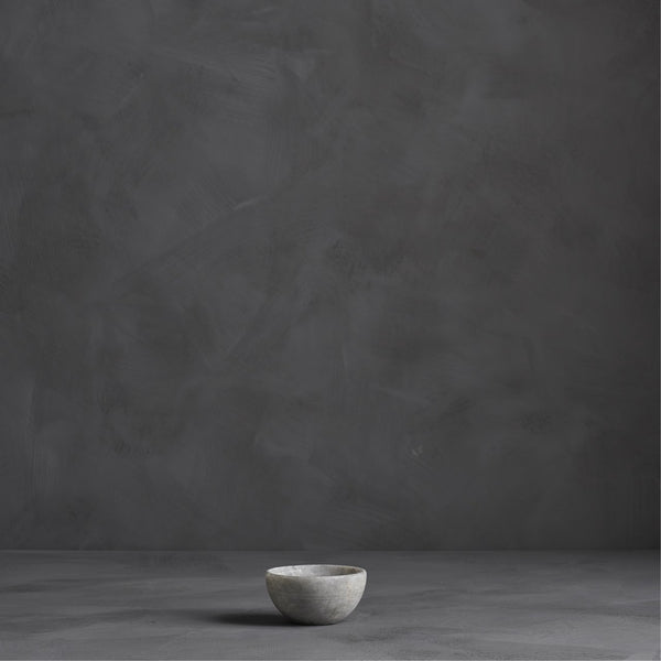 nature marble bowl grey