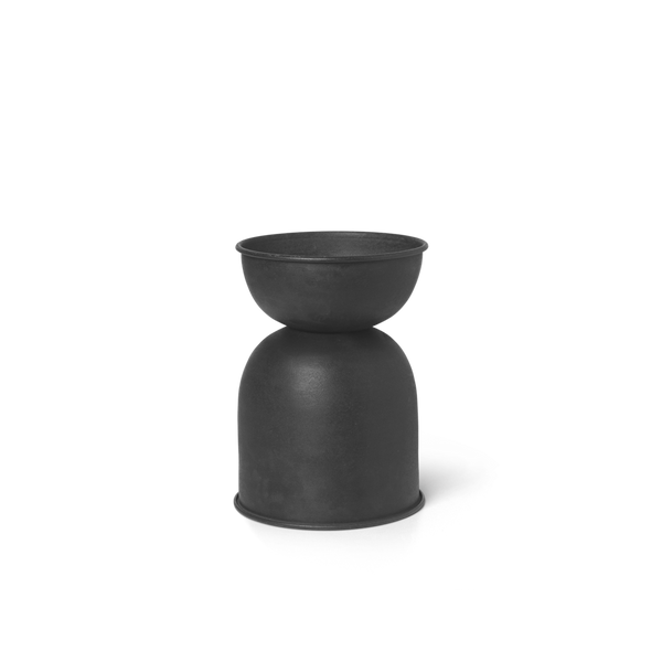 Hourglass Pot - Black