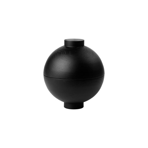XL Wooden Sphere – Black