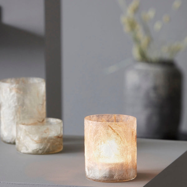 Raipur tealight holder - Beige
