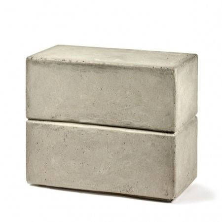CONCRETE STOOL - RECTANGULAR