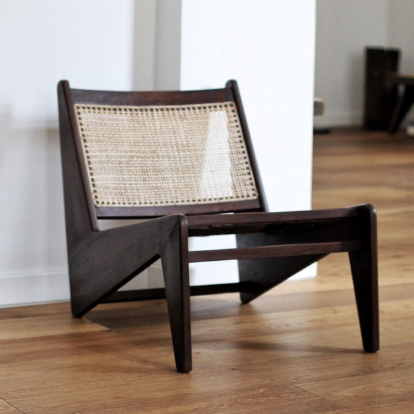 Kangaroo Chair - Darkened teak