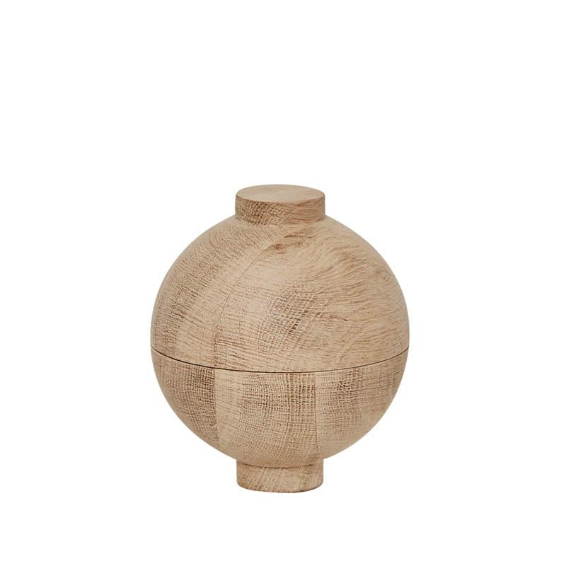 XL Wooden Sphere – Oak