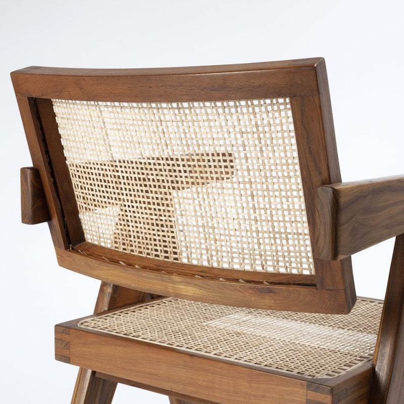 Office Chair - Natural teak