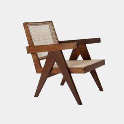 Easy Lounge Chair - Natural teak