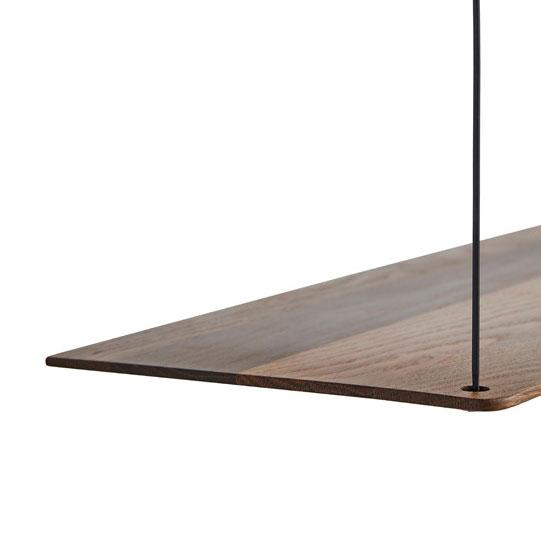 STEDGE SHELF SMALL - SMOKED OAK