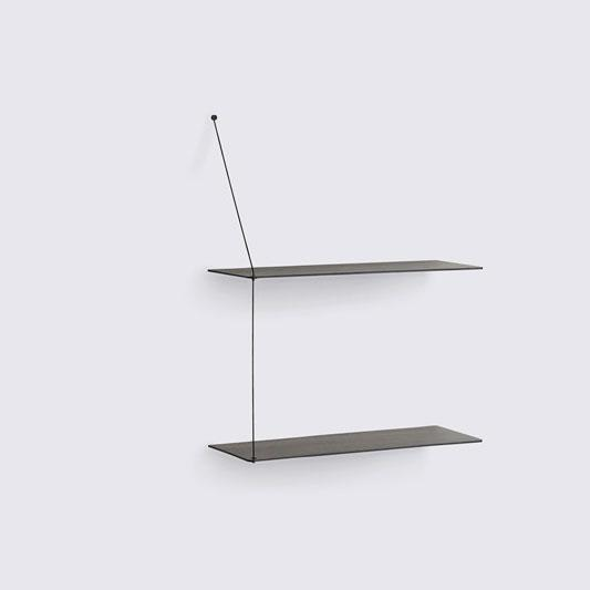 STEDGE SHELF LARGE - BLACK