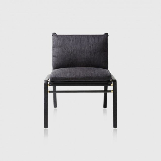 REN DINING CHAIR - BLACK ASH