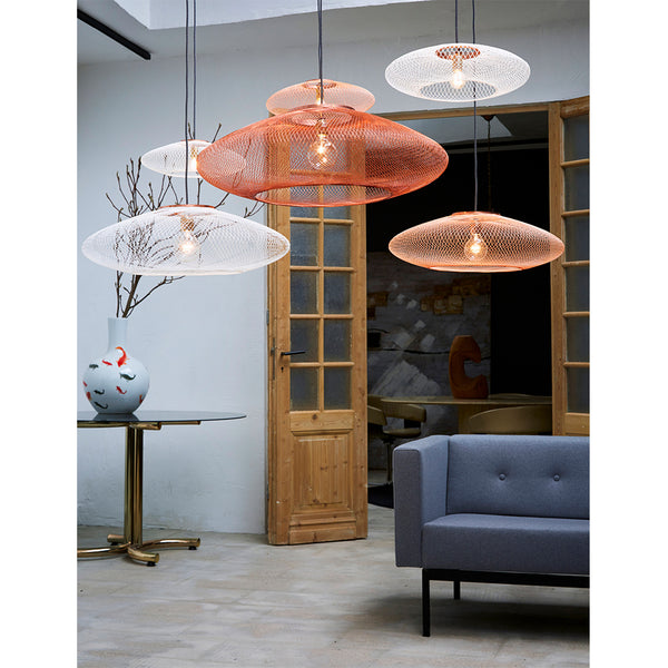 FIBER PATTERN LAMP (COPPER)
