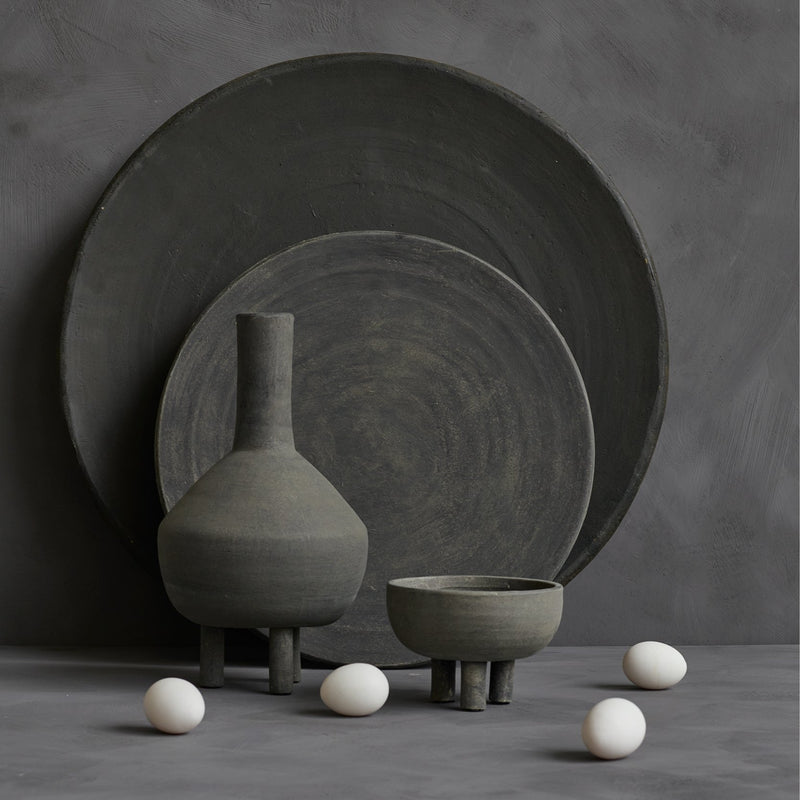 Duck bowl big - dark grey