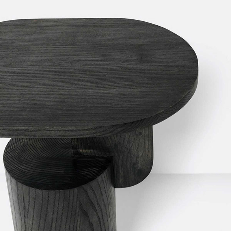 Insert Side Table - Black stained