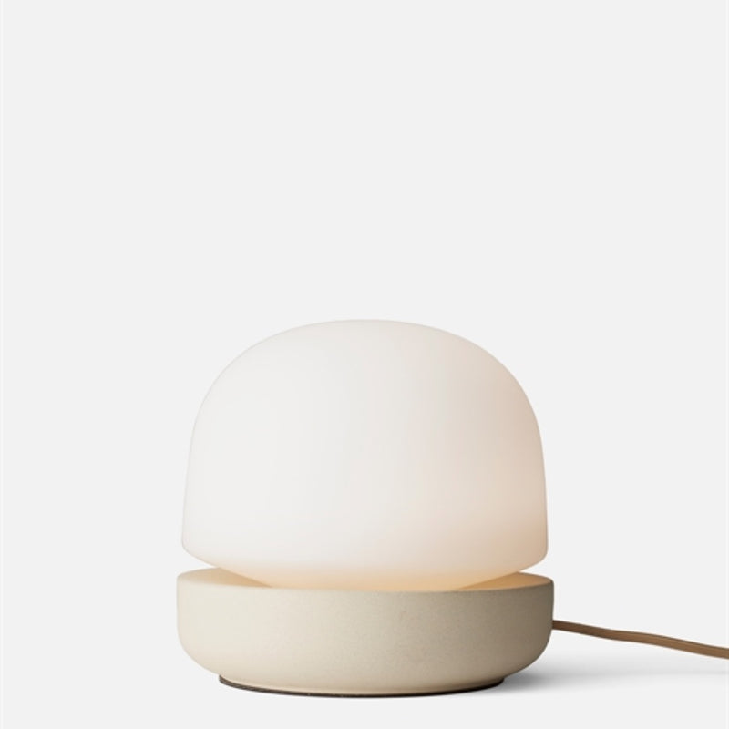 Stone Table Lamp, sand