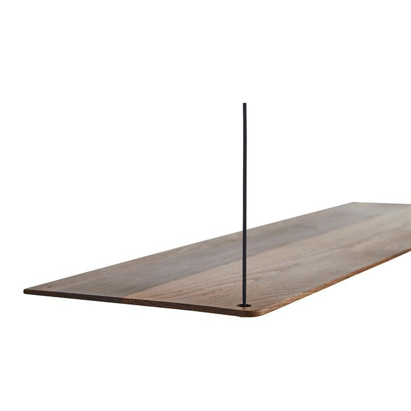 STEDGE SHELF LARGE- SMOKED OAK