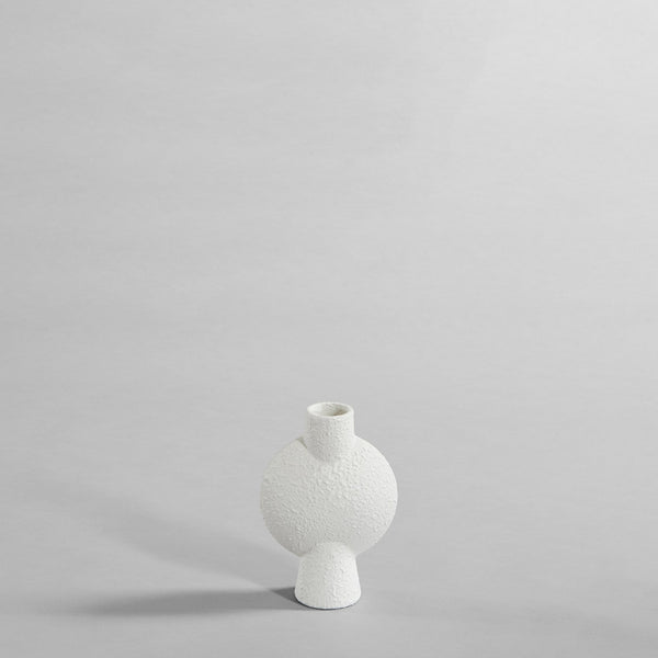 Sphere vase bubl - mini - white