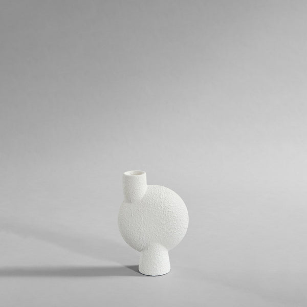 Sphere vase bubl - medium - white