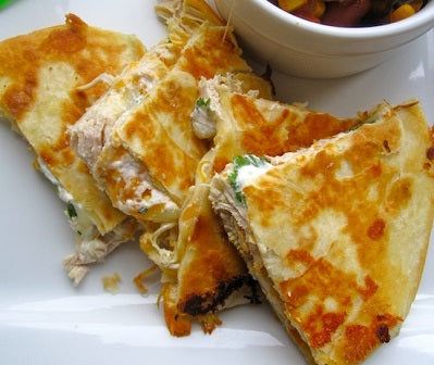 Crab Quesadillas