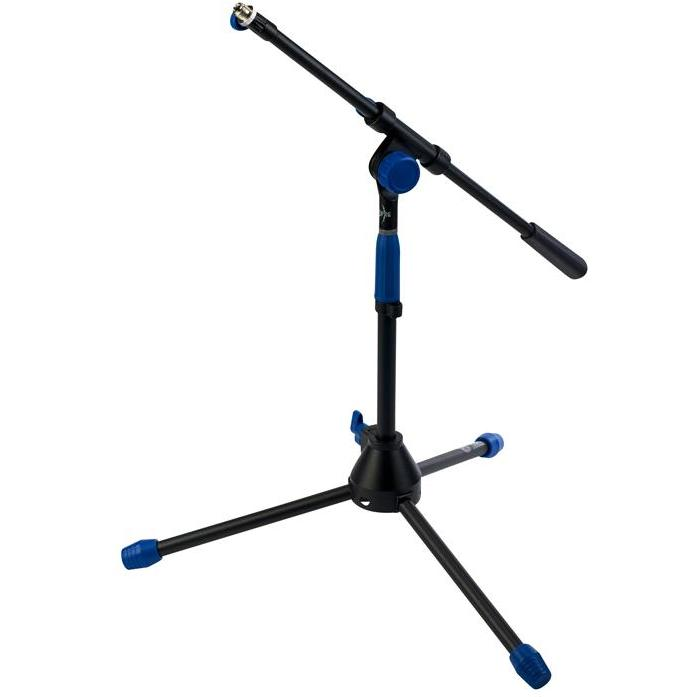 PRG Deluxe Short Microphone Stand with Telescoping Boom - AP Intl