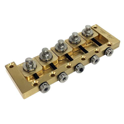 Ray Ross Saddle-Less 5-String Bass Bridge - AP Intl