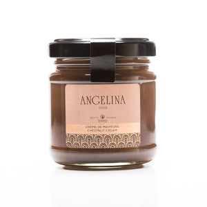 chestnut cream - crème de marrons - Angelina