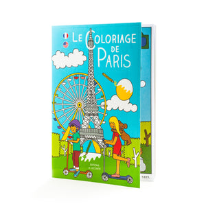 coloring - coloriage paris