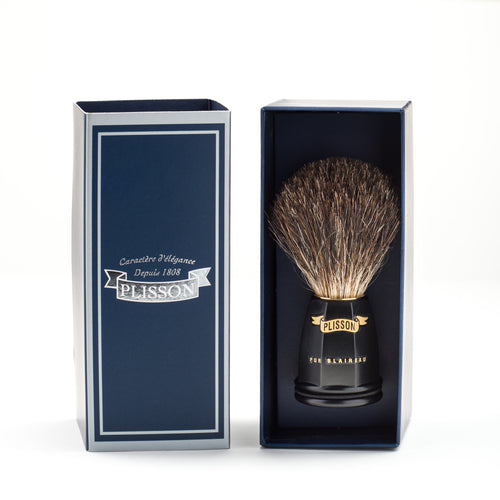 shaving brush - blaireau - Plisson