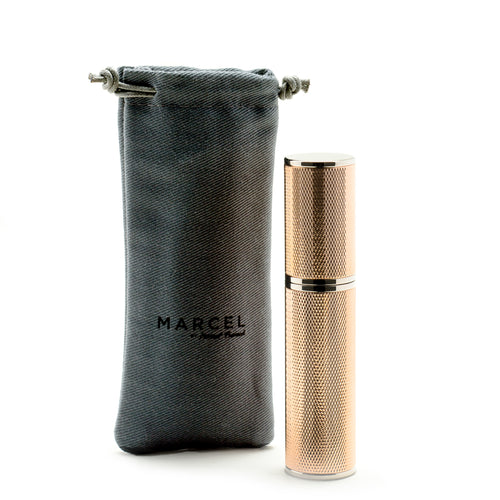 guilloche travel spray - vaporisateur de sac guilloche Marcel Franck